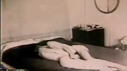 Vintage couple fuck at home - part 1