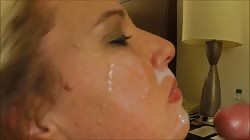 Wife makes 9 inch cock cum in 34 seconds