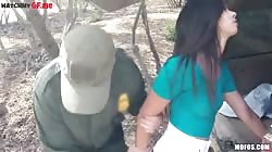How this soldier is trying my teen hot body out with his steel cock