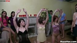 Sex humuliation in the dorm full of hot colege sluts
