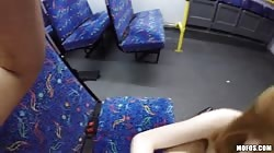 Sweet sex in the train in the video by I Know That Girl