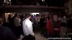 Stunning college party turns into a hot College Fuck Fest