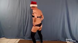 Striptease to Santa Baby to Try to Get on Nice List