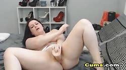 crazy huge-chested Webcam babe jerk her honeypot