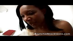 Black goddess gets a nice facial load from a white dick