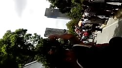 Desfile GLBT por las calles de Centro Historico