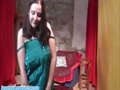 casual damsel doing her greatest  lapdance disclose