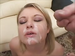 threesome facials compilation