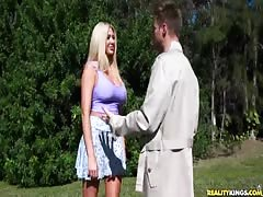 Big-ass blonde is getting fucked hard in the video by Milf Hunter