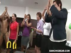 Amazing party with interracial fuckers by Dancing Bear