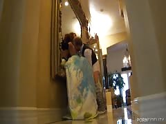 Gorgeous public sex in the hotel provided by Porn Fidelity