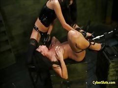Extreme Machine Sex and Bondage Torture