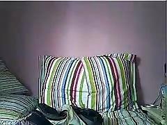 teen masturbates on her webcam