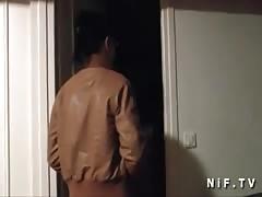 Amateur black slut banged by an old man