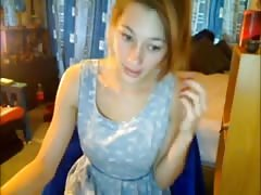 Cute teen on webcam