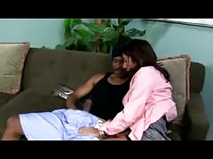 Chastity Lynn: and her mom doing a black cock