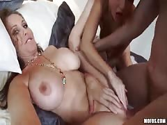 Astonishing MILF being fucked in her accurate snatch - Big tits Babysitters