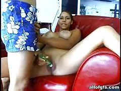 Latina babe will try my sausage for the first time