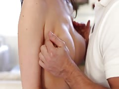 Skillful milf is having dirty sex with her personal masseur