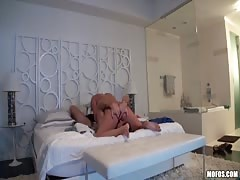 hardcore homemade porn with a astounding fair haired bombshell wifey