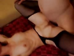Elegant and sensual amateur sex with a skinny Russian