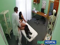 xxx  doctor is using his man-meat as a exclusive remedy