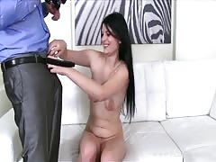 Armed with cam Fake Agent fucks another seductive beauty