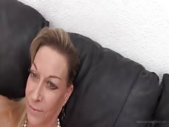 Milf came here to prove her cock-sucking skills on the camera