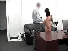 Quick but intensive sex in the video by Backroom Casting Couch