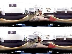 Awesome lesbian POV Virtual Reality action