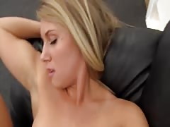 Awesome young blonde is having a truly good action!