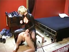 youthful French dominatrix