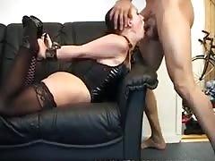 Slim Brunette In Tight Bondage Got Big Black Cock In The Ass
