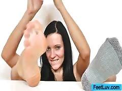 Ema Black oily feet