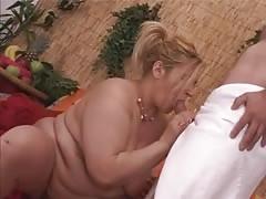 Blonde Italian BBW-Milf Fucking