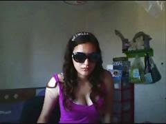 Very very beautiful hairy girl in webcam