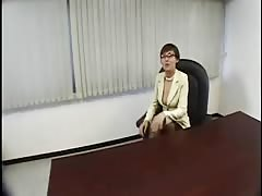 Japanese woman Boss naughty at the Office-by PACKMANS