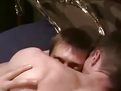 Passionate Twinks on Bed