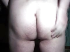 Sissy showing off her hole