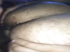 butt play with spunk
