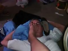 Sweaty feet foot smother(AMAZING)