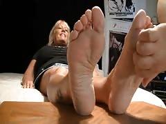 blonde stale super hot soles