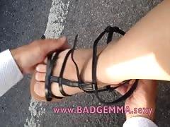 new Gladiator Sandals Foot Fetish