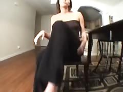 Nikki catches you watching foot porn