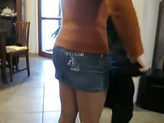 collant pantyhose nylon calze piedi velati cum sborra
