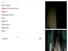 Turkish girl shy but excited on omegle