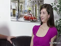 He Seduce German Step-Sister to Lost Virgin with Fuck