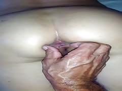 orgasmo anal invasion de mi mi mujer