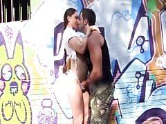 Marta Lacroft - sexo al aire libre