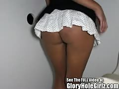 big boob Spanish hottie Veronica in the gloryhole